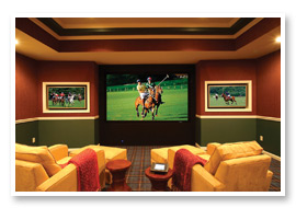 Sound & Vision is proud to be one of the top home theater design firms in the Charlotte area.