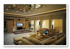Our residential customers include homeowners for their home offices and entertainment areas.